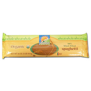 Spaghetti 100% Whole Wheat, Organic