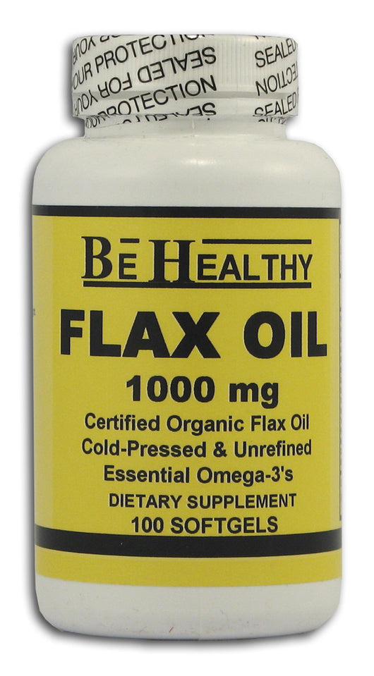 Flax Oil, 1000 mg., Organic