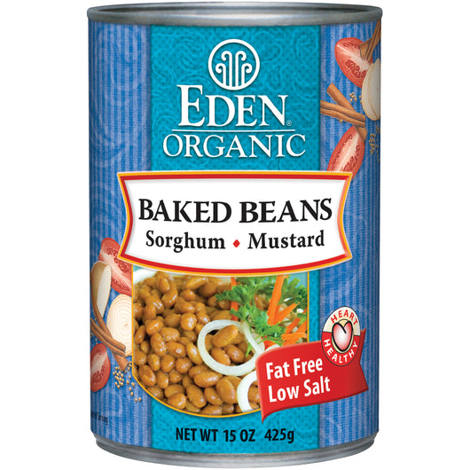 Baked Beans w/Sorgh&Mustard, Org
