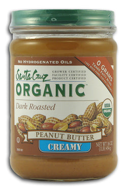 Peanut Butter, Dark Roasted, Creamy, Organic