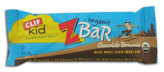 Chocolate Brownie Z Bar, Organic