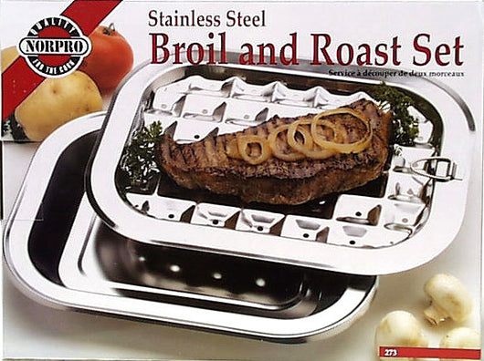 Stainless Steel Broiling Pan