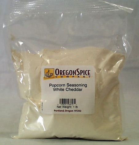 Popcorn Seasoning, White Cheddar