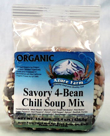 Savory 4-Bean Chili Soup Mix, Org