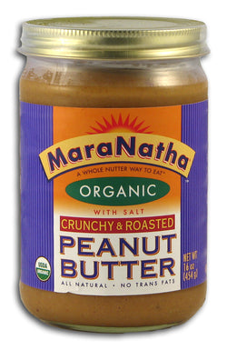Peanut Butter CRUNCHY Salted, Org