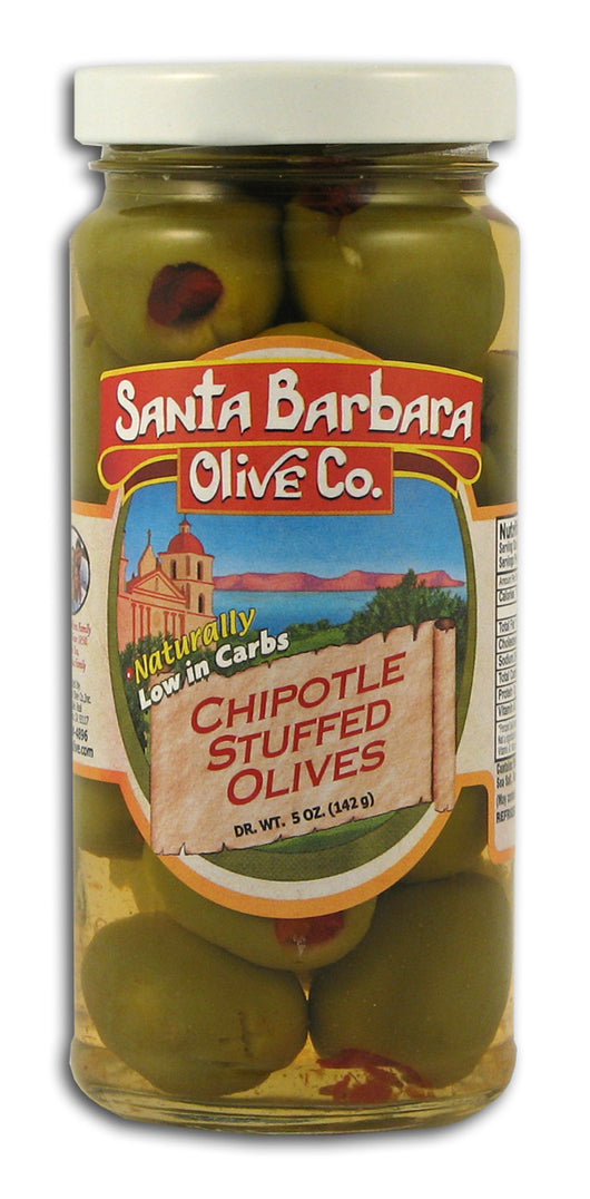 Chipotle Stuffed Green Olives