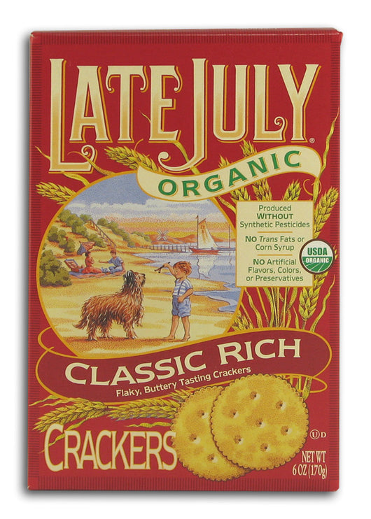 Classic Rich Crackers, Organic
