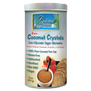 Coconut Crystals, Raw, Organic