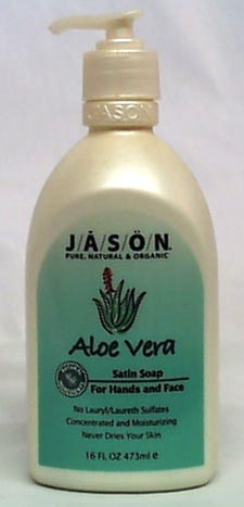 Aloe Vera Liquid Satin Soap w/pump