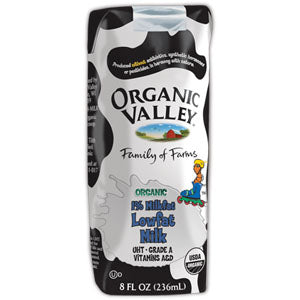 1% Milk Single Serve, Shelf Stable