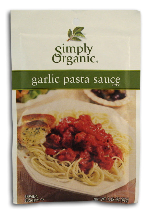 Garlic Pasta Sauce Mix, Organic