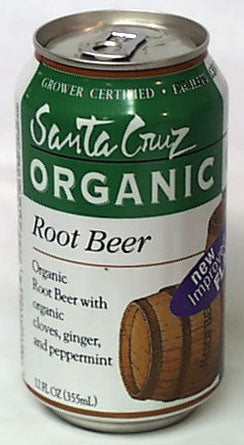 Root Beer Sparkling, Organic