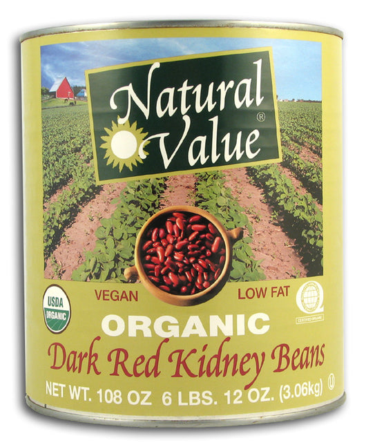 Dark Red Kidney Beans, Organic (BIG