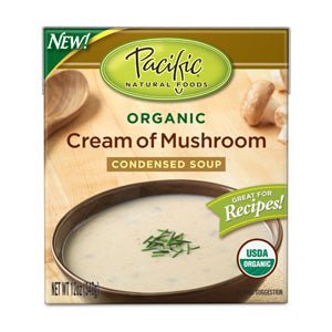 Cream of Mushroom Soup, Condensed