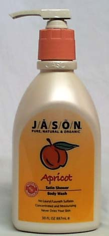 Apricot Satin Shower Body Wash