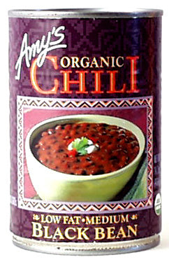 Black Bean Vegetable Chili, Organic