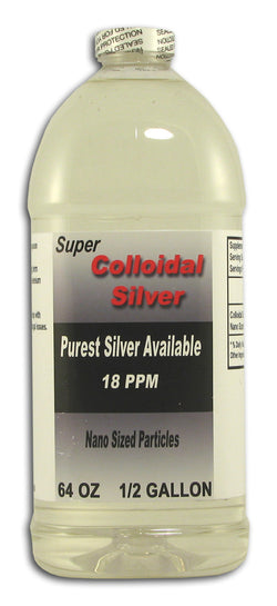 Super Colloidal Silver, 18 ppm, Nano