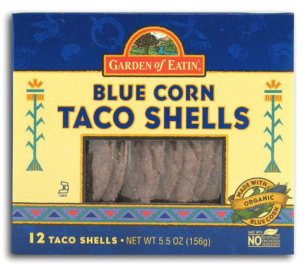 Taco Shells, Blue Corn