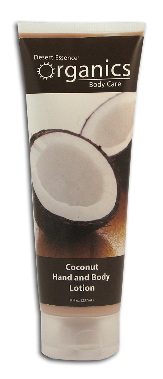 Coconut Hand & Body Lotion, Org