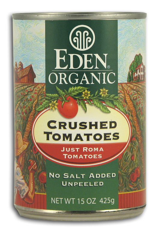 Crushed Tomatoes, Just Romas, Org