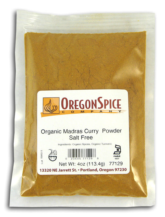 Curry Powder, Madras, Salt Free, Org