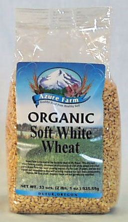 Soft White Wheat Berries, Organic