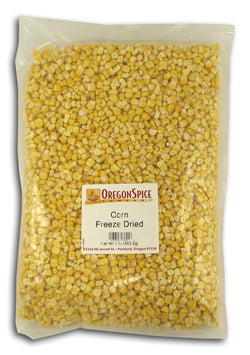Sweet Corn, Freeze-Dried
