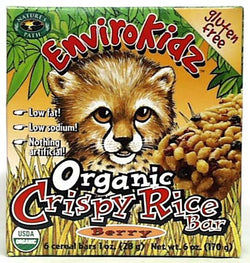 Crispy Rice Bar Berry Organic