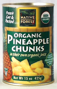 Edward & Sons Pineapple Chunks, Org