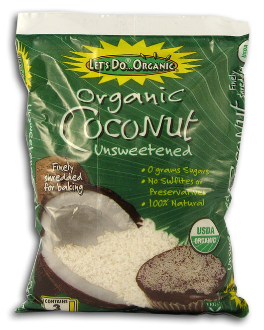 Edward & Sons Shredded Coconut, Org