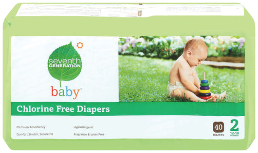 Baby Diapers, Stage 2 (12-18 lbs)
