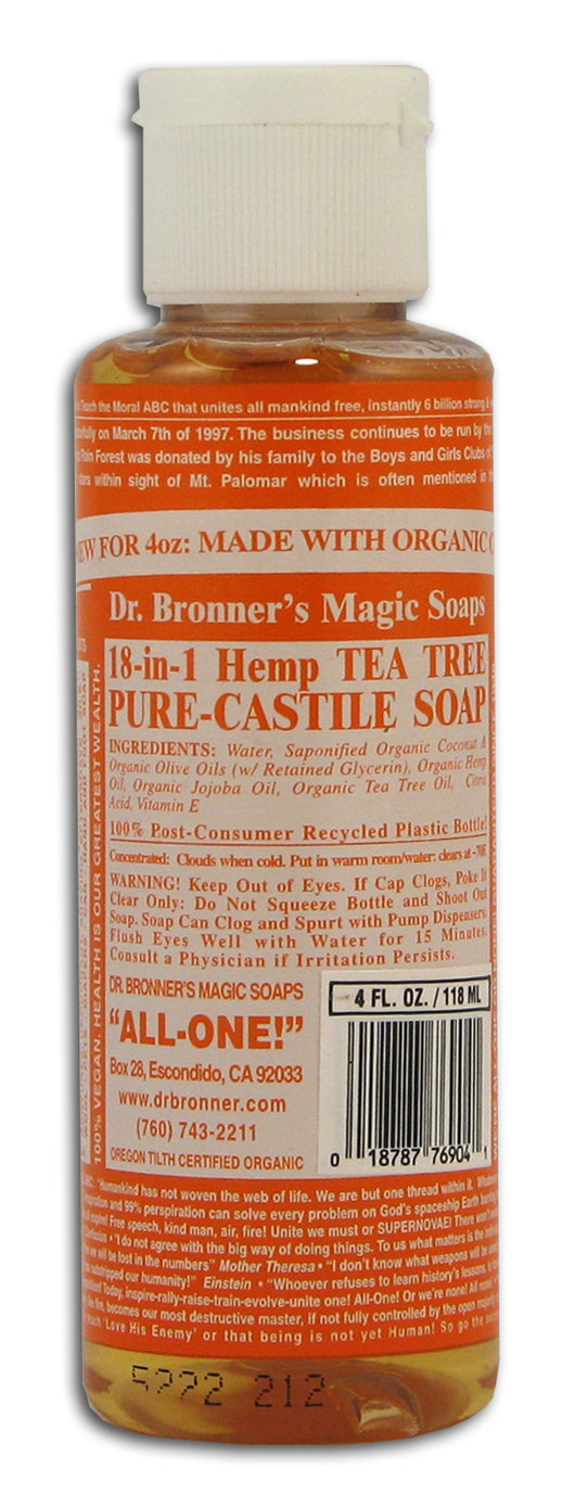 TEA TREE Castile Liquid Soap