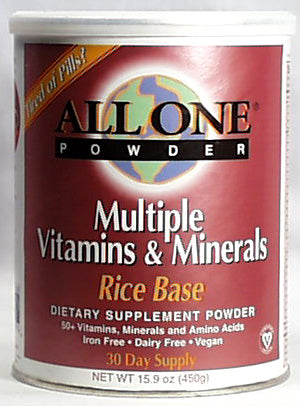 Rice Base Vitamin/Mineral Powder