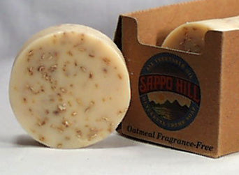Oatmeal Bar Soap (No Scent, Color)