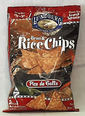 Bean & Rice Chips, Pico de Gallo