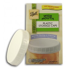 Wide Mouth Plastic Storage Caps