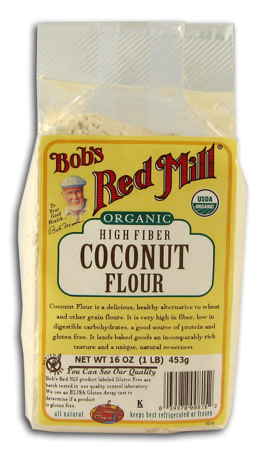 Coconut Flour, High Fiber, Organic