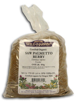 Saw Palmetto Powder, Organic