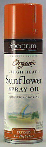 High Heat Sunflower Spray Oil, Org