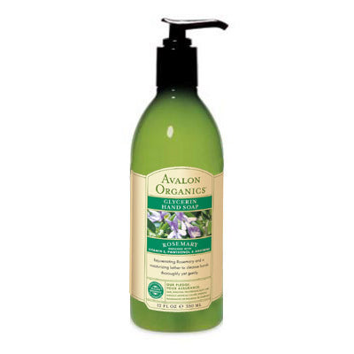 Organic Rosemary Liquid Soap