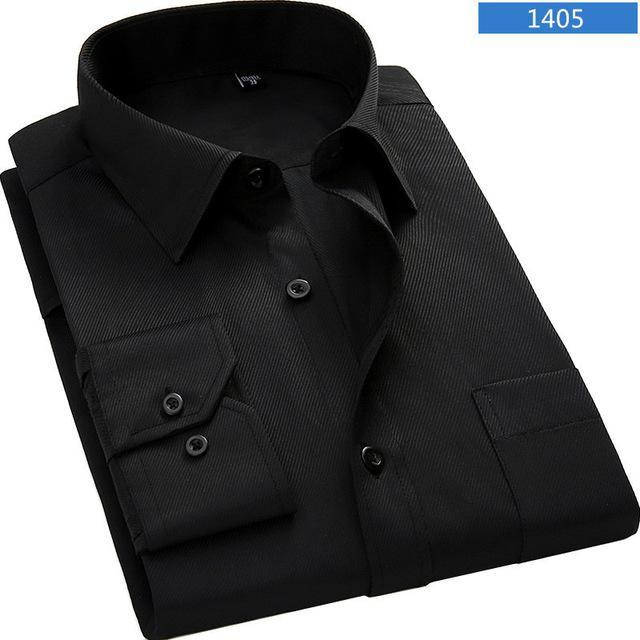 Business solid shirt