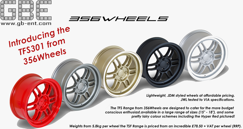 356 Wheels Now Live! Budget Friendly JDM Style Wheels