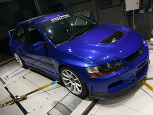 Blue Evo 9 Build