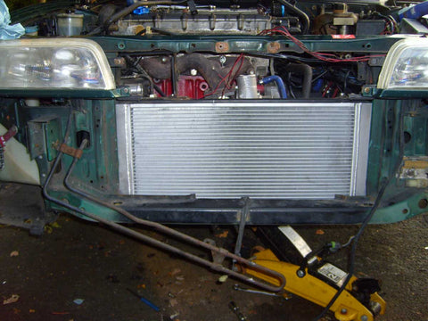 Rover 220 Turbo Radiator - Alloy upgrade - Fits Coupe Turbo / ZR Conversions etc