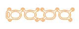 Gizzmo Thermal Intake Gasket for Nissan CA18DET Single Port