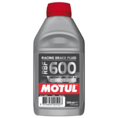 Motul Racing Brake Fluid - RBF600 - 500ml - 100% Synthetic
