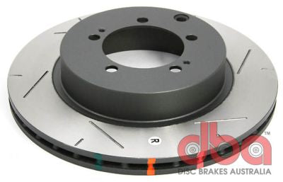 DBA 4000 T3 REAR Brake Discs for Mitsubishi EVO 4/5/6/7/8/9 with Brembo Calipers - DBA4419S