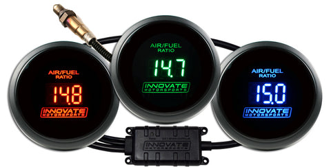 Innovate Motorsports DB Gauge - shows Air/Fuel Ratio