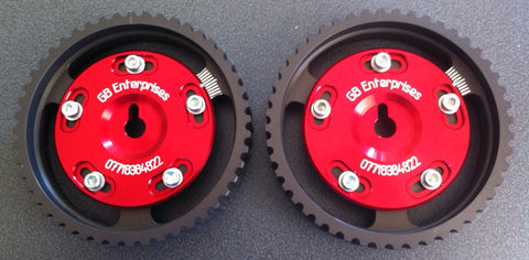Vernier Pulleys for Mitsubishi EVO 4-8 - GBE CNC UK Made
