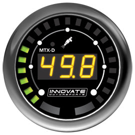 Innovate Motorsports MTX-D: Fuel Pressure 52mm Gauge - IN3917